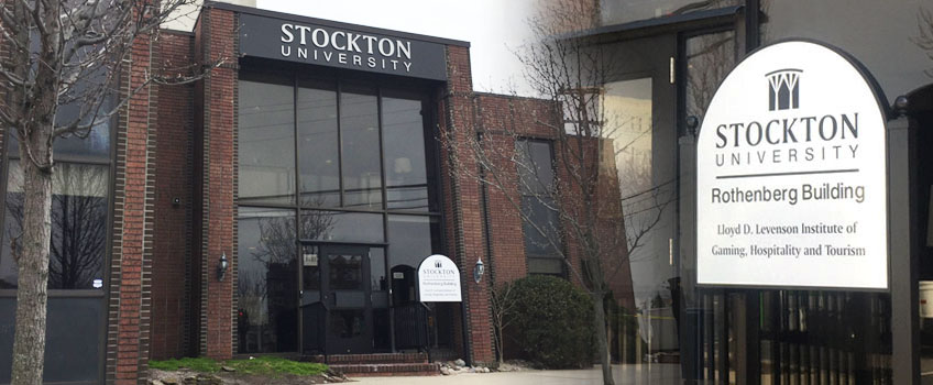 The Stockton-Rothenberg Building entrance